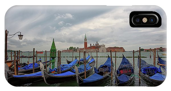 IPhone Case featuring the photograph Venice Gondola's Grand Canal by Nathan Bush