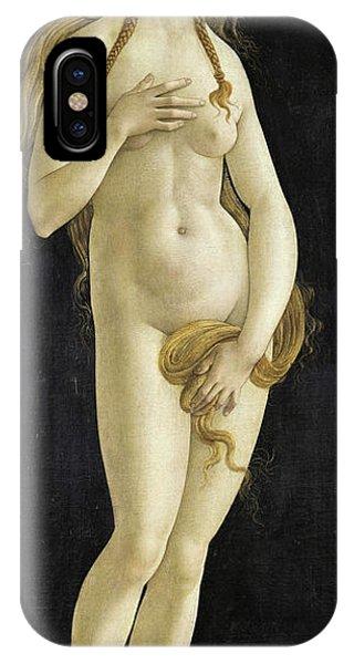 Botticelli iPhone Case - Venus, 15th Century by Sandro Botticelli