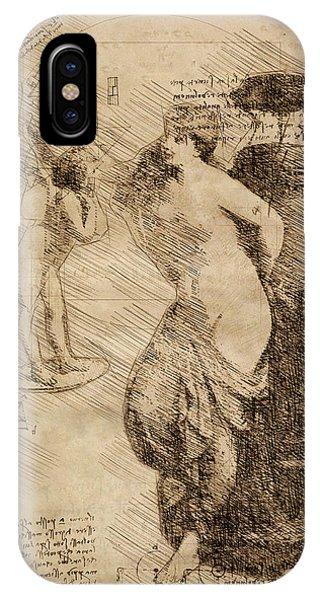 Venus Weigh Cupid IPhone Case