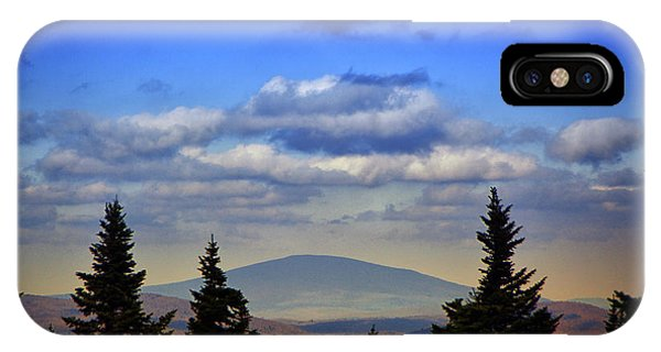 IPhone Case featuring the photograph Vermont From Mount Greylock Summit by Raymond Salani III