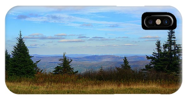 IPhone Case featuring the photograph Vermont From The Summit Of Mount Greylock by Raymond Salani III