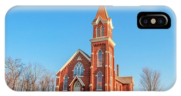 Lutheran iPhone Case - Vermont Lutheran Church by Todd Klassy