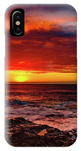Vertical Warmth IPhone Case