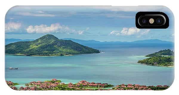 Condo iPhone Case - Victoria, Mahe, Republic Of Seychelles by Michael Defreitas