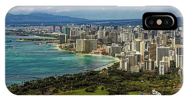 View From Diamond Head IPhone Case
