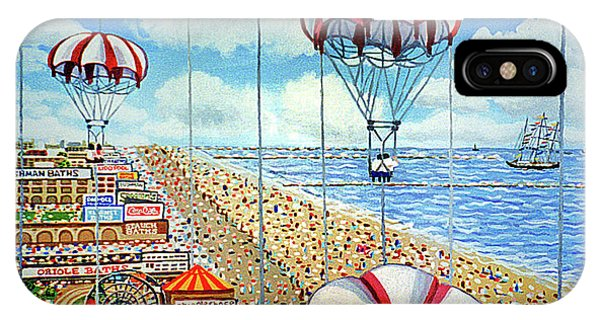 View From Parachute Jump Towel Version IPhone Case