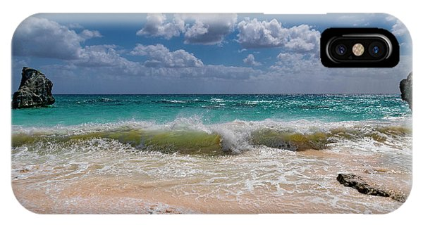 Carribbean iPhone Case - View From The Office by Betsy Knapp