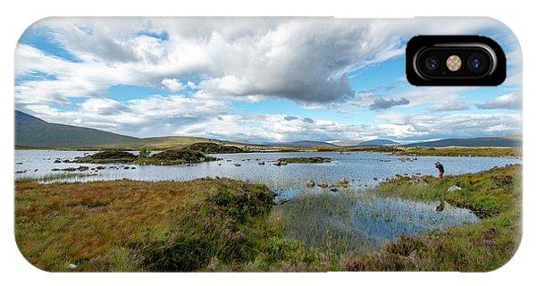 View In Glencoe, Scotland IPhone Case