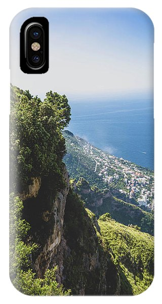 View Of Amalfi Italy From Path Of The Gods IPhone Case