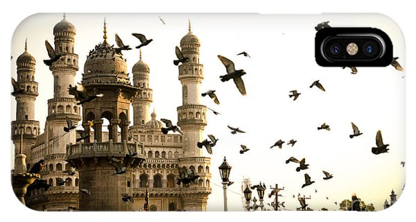 Dome iPhone Case - View Of Charminar, Hyderabad. India by Saisnaps