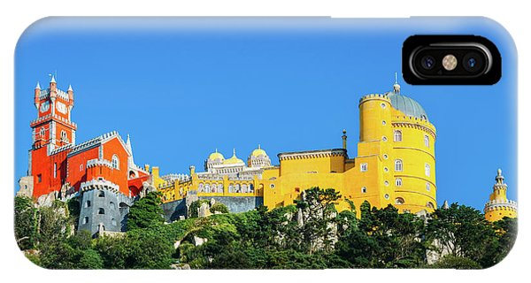 View Of Pena National Palace, Sintra, Portugal, Europe IPhone Case