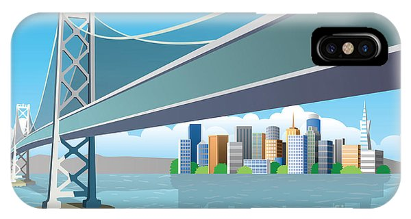 Space iPhone Case - View Of The City From The Sea by Nikola Knezevic