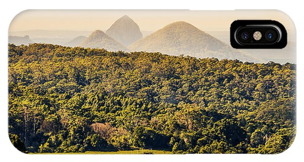 Qld iPhone Case - View To The Sunshine Coast by Jorgo Photography - Wall Art Gallery