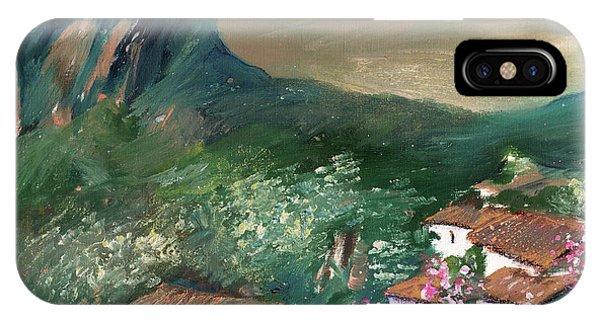 iPhone Case - Village On The Costa Blanca 02 by Miki De Goodaboom