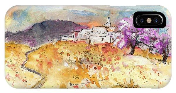 iPhone Case - Village On The Costa Blanca by Miki De Goodaboom