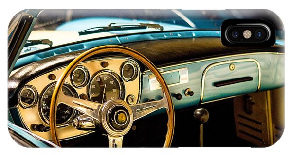 Vintage Blue Car IPhone Case