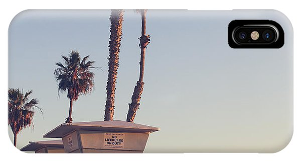 Vintage California Life Guard Station - Phone Case by Dcornelius