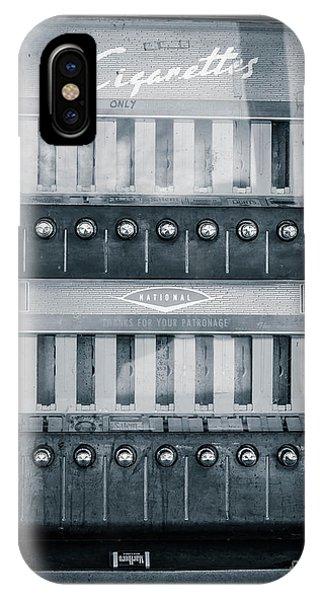 Dispenser iPhone Case - Vintage Cigarette Coin-op Machine by Edward Fielding