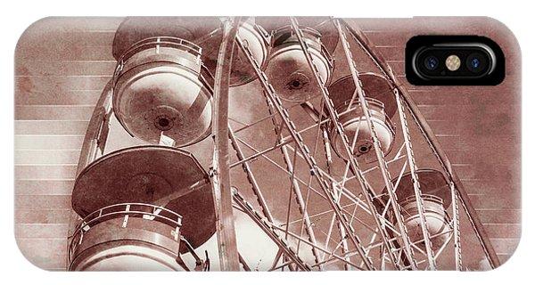 Vintage Ferris Wheel IPhone Case