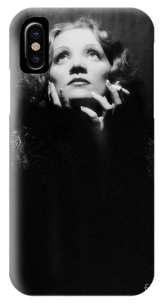 Leading Actress iPhone Case - Vintage Film Still Depicting Marlene Dietrich In Shanghai Express, 1932 by European School