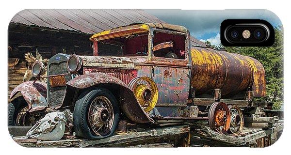 Vintage Ford Tanker IPhone Case