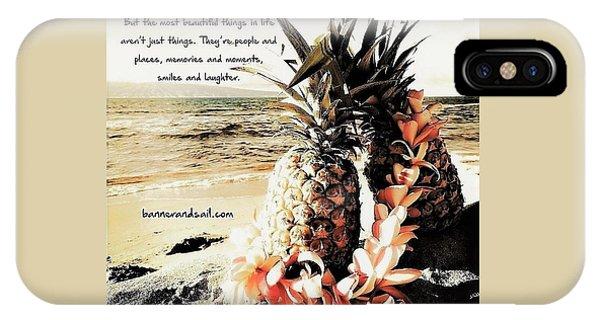 iPhone Case - Vintage Hawaiian Pineapples  by Stephanie Callsen