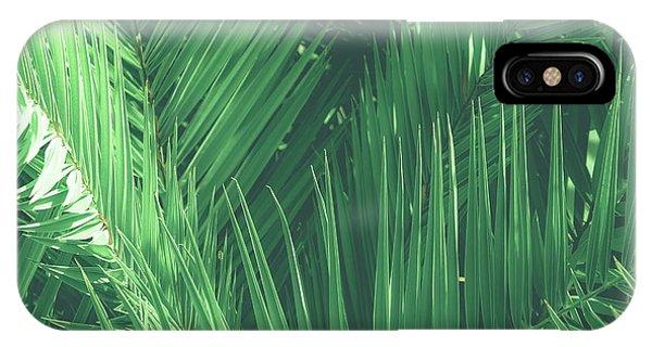 Vintage Palms I IPhone Case