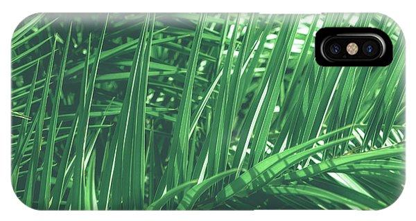 Vintage Palms V IPhone Case