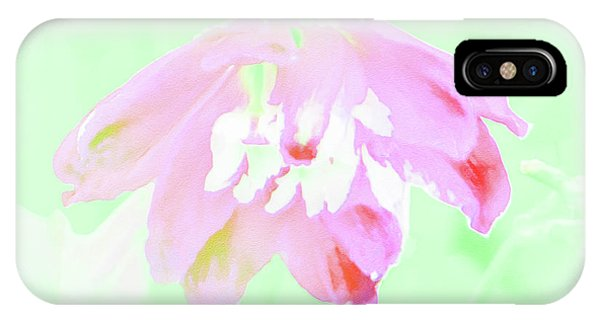 Violet Red Islamic Flora IPhone Case