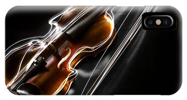 Thought iPhone Case - Violin by ArtMarketJapan