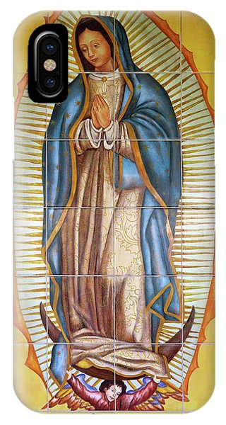 San Gabriel Mission iPhone Case - San Gabriel Mission - Nuestra Senora De Guadalupe by Ram Vasudev