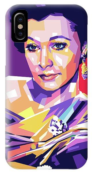 Vivien Leigh Pop Art IPhone Case