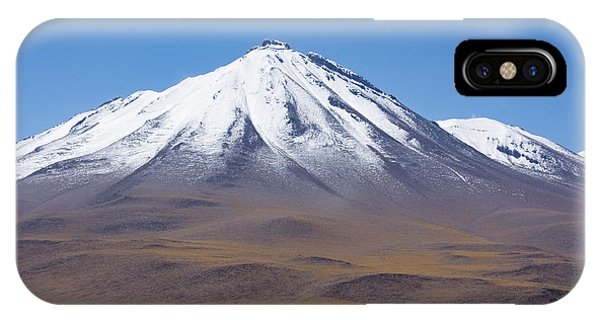 Volcano On The Altiplano IPhone Case