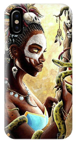 Voodoo iPhone Case - Voodoo Queen by James Holko
