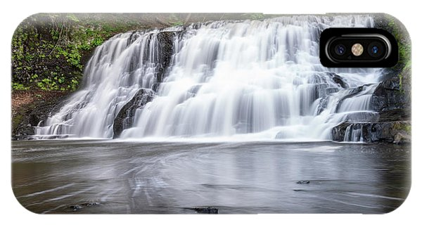 Wadsworth Falls In Middletown, Connecticut U.s.a.  IPhone Case
