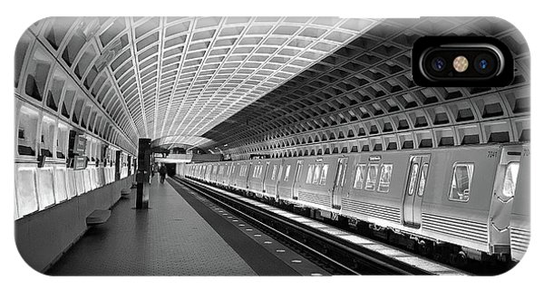 Waiting At Pentagon City Station IPhone Case