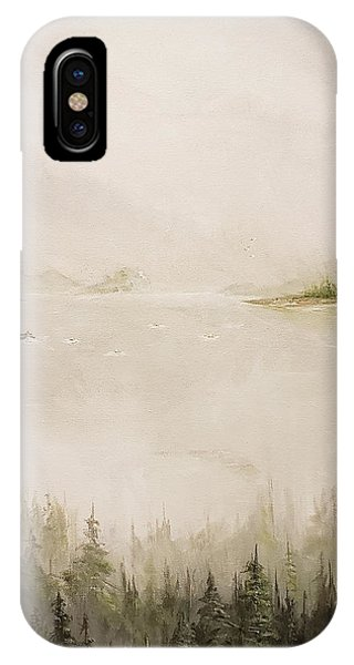Waiting For The Eagle To Come IPhone Case