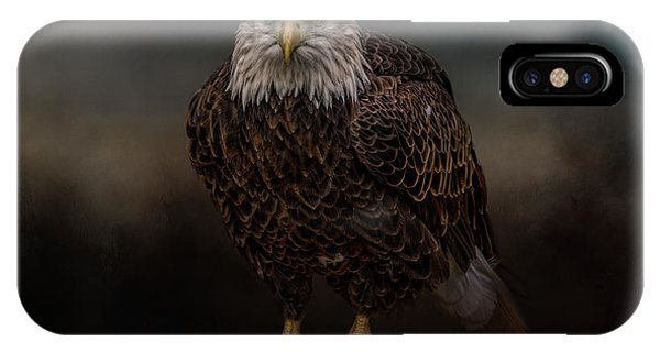 Waiting On The Storm IPhone Case
