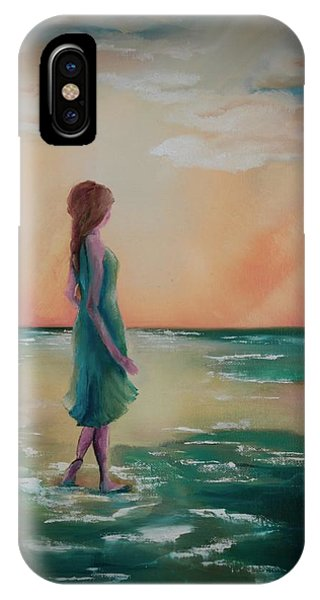 Walk Through Water IPhone Case