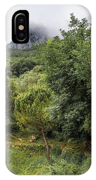 Walking Along The Mountain Path IPhone Case