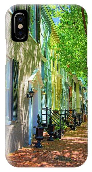 Walking On Duke Street IPhone Case