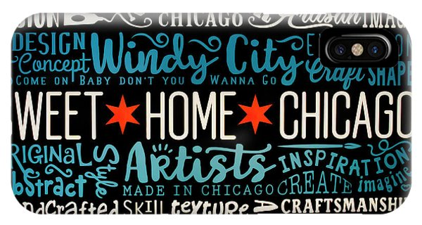 Wall Art Chicago IPhone Case