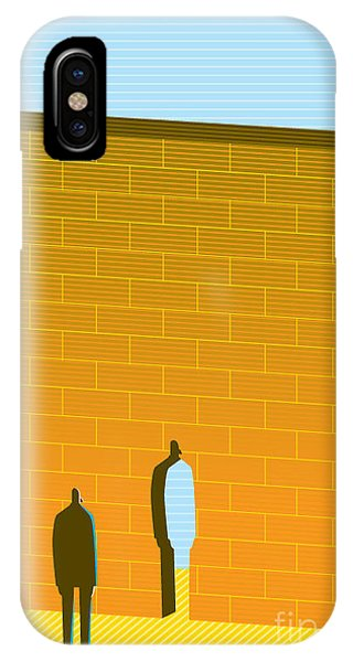 Danger iPhone Case - Wall by Bbay