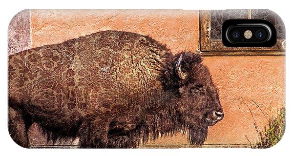 Wallpaper Bison IPhone Case