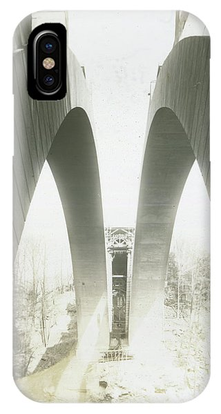 Walnut Lane Bridge Under Construction IPhone Case