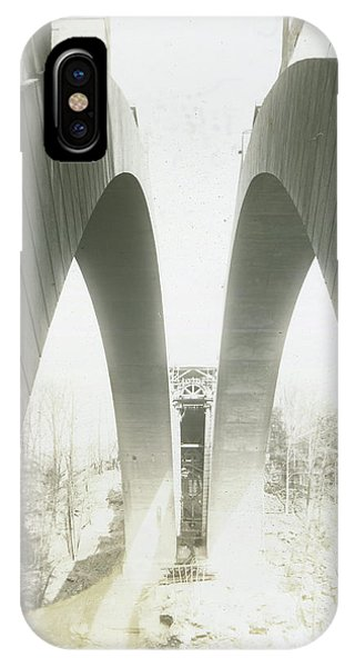 Walnut Lane Bridge Under Construction IPhone Case