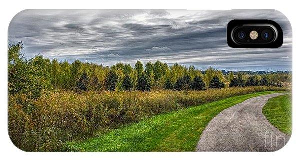 Walnut Woods Pathway - 2 IPhone Case