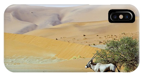 View Point iPhone Case - Wandering Dune Of Sossuvlei In Namibia by Damian Ryszawy