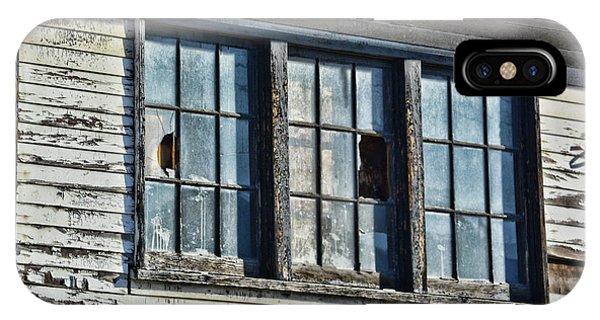 Warehouse Windows IPhone Case