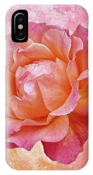 Warm And Crunchy Rose IPhone Case